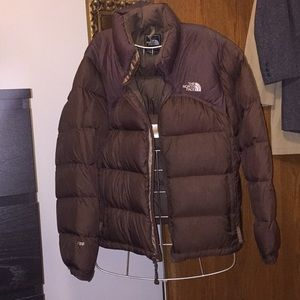 North Face Women's Lg 700 Brown jacket